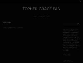 tophergracefan.com screenshot