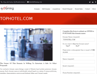 tophotel.com screenshot