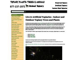 topiarytree.net screenshot