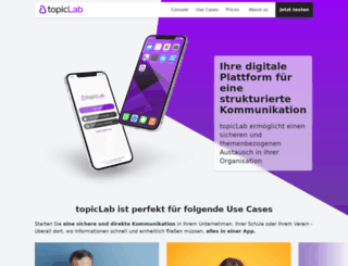 topiclab.com screenshot