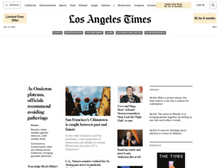 topics.latimes.com screenshot