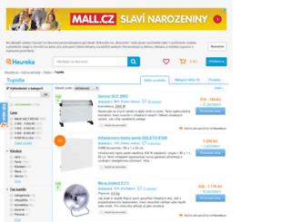 topidla.heureka.cz screenshot