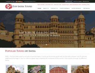 topindiatour.com screenshot