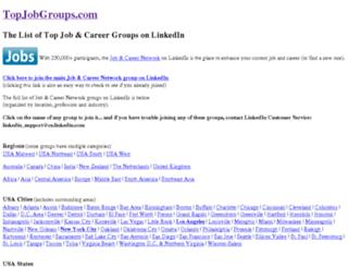 topjobgroups.com screenshot