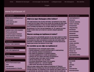 topklasser.nl screenshot