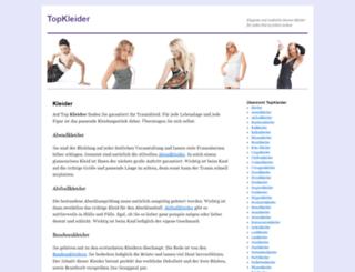 topkleider.de screenshot