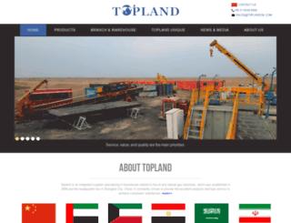 toplandoil.com screenshot