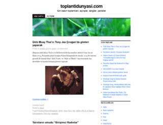 toplantidunyasi.com screenshot