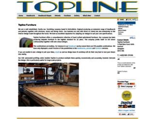 toplinefurniture.co.uk screenshot