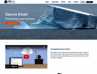 topmail.com screenshot