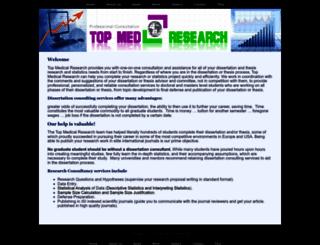 topmedresearch.com screenshot