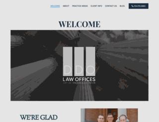 topmichiganlawyers.com screenshot