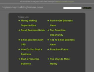 topmoneymakingforum.com screenshot