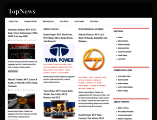 topnews.in screenshot