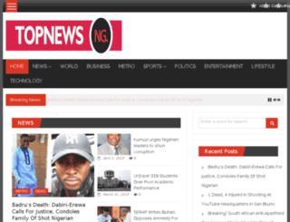 topnewsng.com screenshot