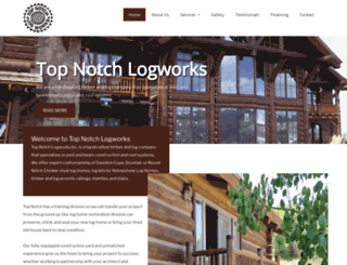 topnotch-logworks.com screenshot
