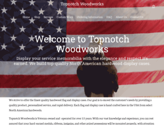 topnotch-woodworks.com screenshot