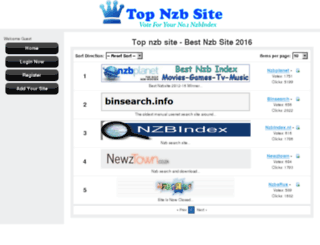 topnzbsite.com screenshot
