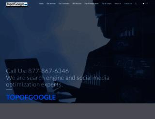 topofgoogle.com screenshot