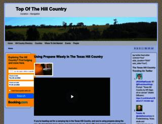 topofthehillcountry.com screenshot