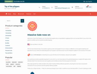 topofthepoppers.com screenshot