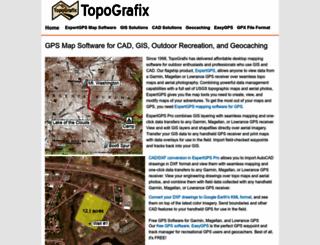 topografix.com screenshot
