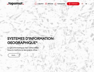 topomat.ch screenshot