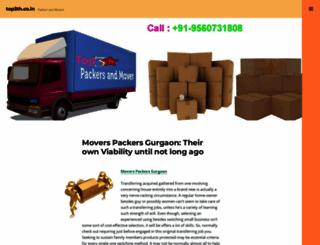 toppackersandmovers73.wordpress.com screenshot