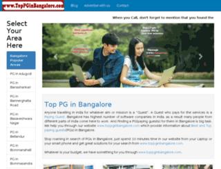 toppginbangalore.com screenshot