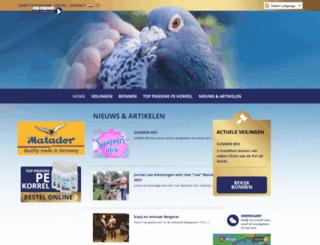 toppigeons.nl screenshot