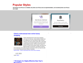 toppopstyles.blogspot.com screenshot