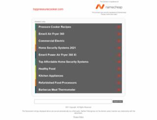 toppressurecooker.com screenshot
