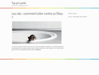 toppro-sante.fr screenshot