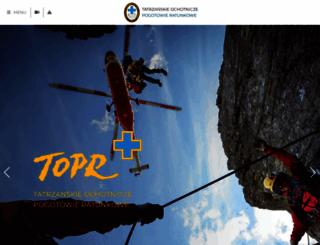 topr.pl screenshot