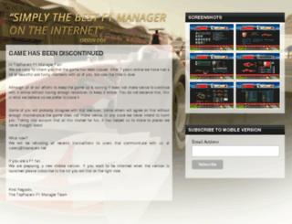 topracers.net screenshot