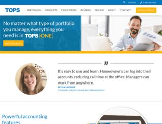 tops-one.com screenshot