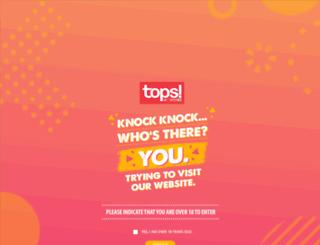 topsatspar.co.za screenshot