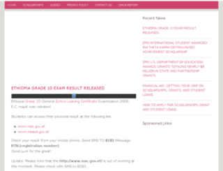 topscholarship.net screenshot