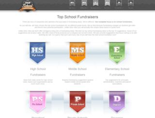 topschoolfundraisers.com screenshot
