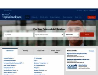 topschooljobs.org screenshot