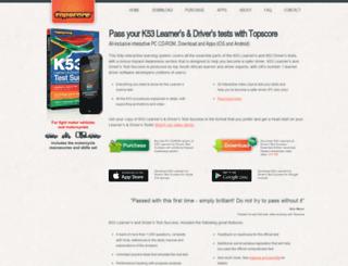 topscore.co.za screenshot
