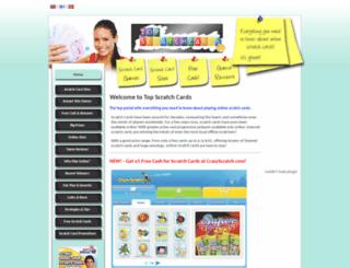 topscratchcards.com screenshot