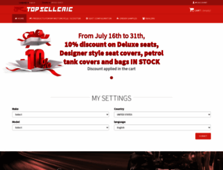 topsellerie.com screenshot