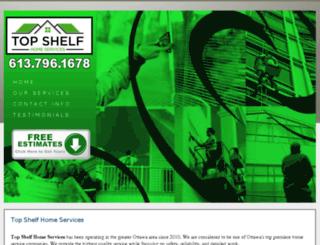 topshelfcustomcleaning.com screenshot