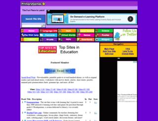 topsites.primarygames.com screenshot