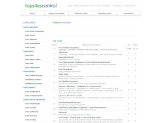 topsitescentral.com screenshot