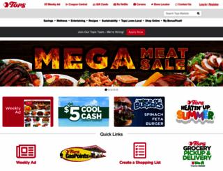 topsmarkets.com screenshot