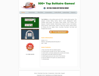topsolitaire.com screenshot