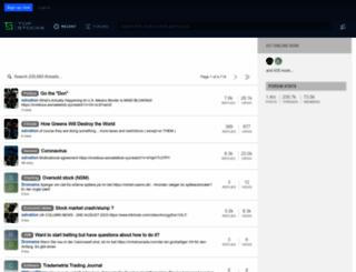 topstocks.com.au screenshot