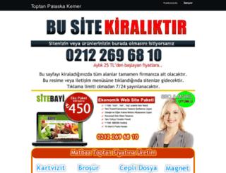 toptan-palaska-kemer.satis.biz.tr screenshot